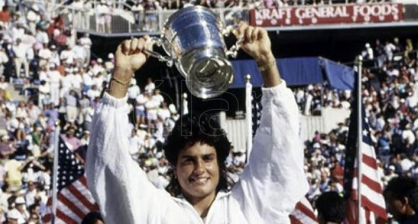 A 30 años de la histórica consagración de Gabriela Sabatini en el US Open