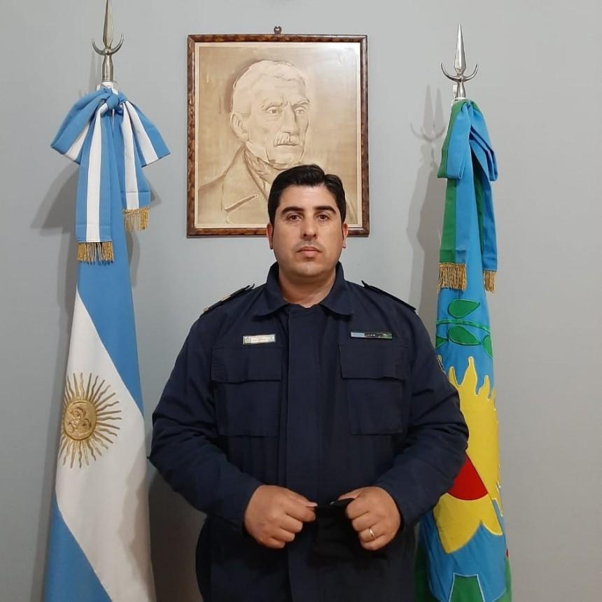 Asumió como Jefe de la Estación de Policia de Gral. Viamonte el Subcomisario Juan José Dávila