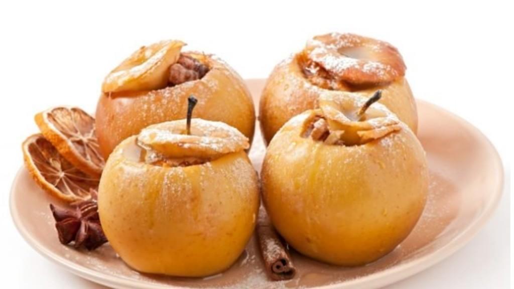 ALICIA SEVERINI | Receta de Manzanas asadas al microondas