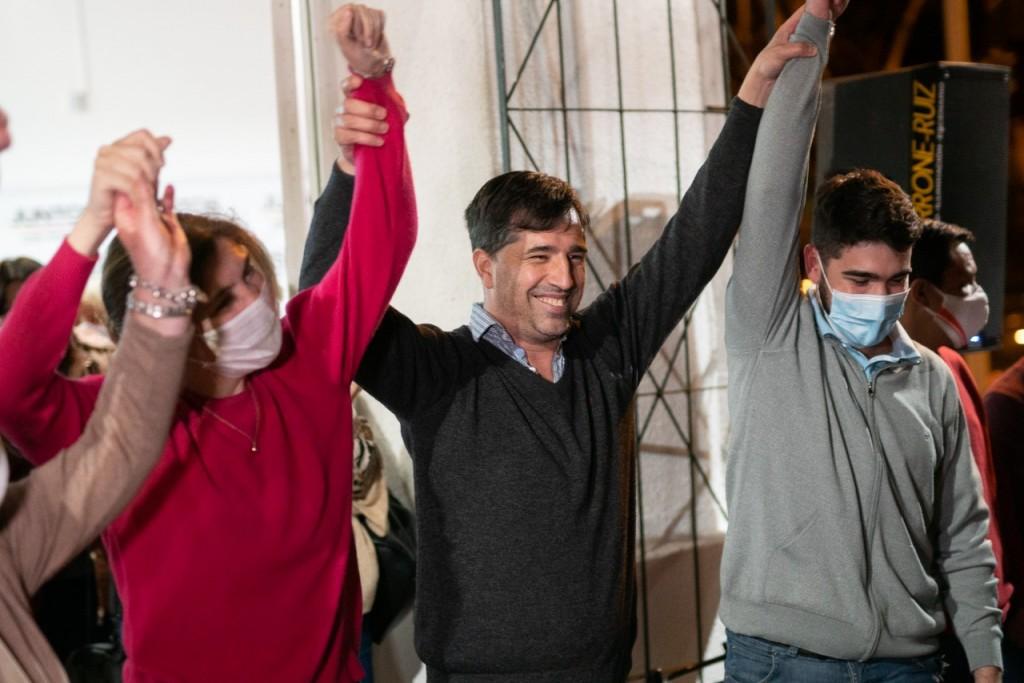 El intendente de Gral. Viamonte, Franco Flexas, agradeció cada voto recibido y ve con muchas esperanzas el futuro de Juntos.