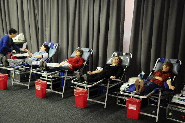 60 empleados de IOMA donaron sangre en su lugar de trabajo