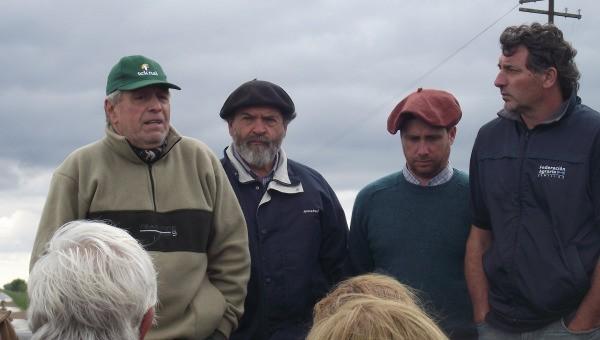 EN RUTA 65 Y CAMINO AL TEJAR: Un centenar de productores se manifestaron contra la decidía publica