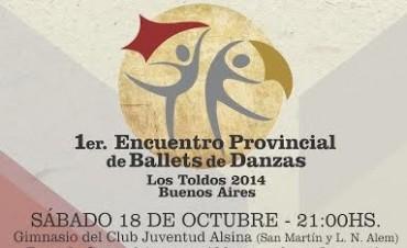 Primer Encuentro Provincial de Ballets de Danzas - Los Toldos 2014
