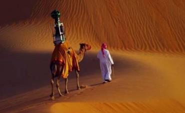 Google Street View usa dromedarios para mapear un desierto