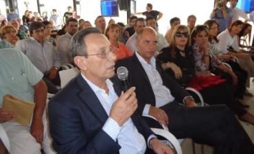La Senadora Provincial Elida E. Villa, participo de visita oficial que realizo a la ciudad de Junín el Ministro Randazzo.