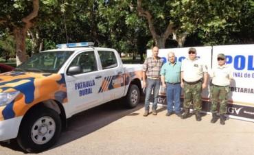Se incorporan 2 nuevos vehiculos a la patrulla rural