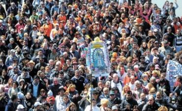 Fue multitudinaria la muestra de fe en la peregrinación a Luján