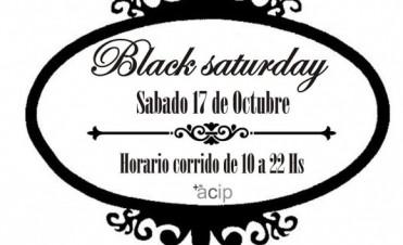 El sábado 17 de octubre, se llevará a cabo el Black saturday