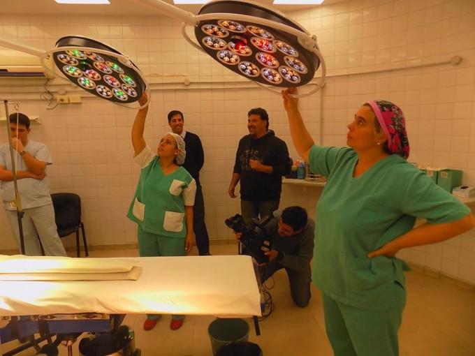 Quirofano renovado en el hospital local