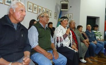 El distrito de Gral Viamonte tendrà en sus màstiles la bandera de la comunidad Mapuche