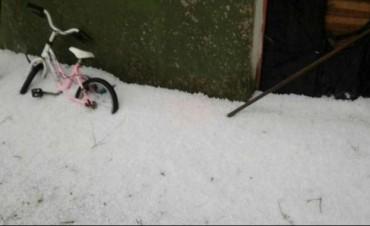 Otro temporal azotó a Huinca Renancó: