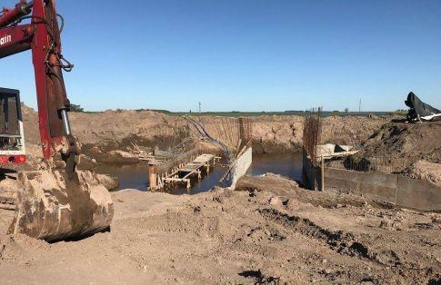 Reinician construcción del Puente Torlaschi