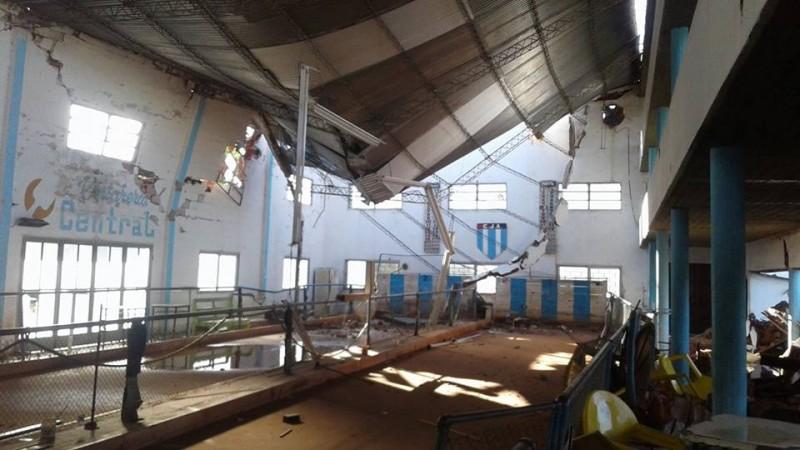 Sin piedad: ráfagas de viento azotaron el distrito de Gral Viamonte. Donde mas daños materiales hubo fue en la ciudad cabecera: Los Toldos