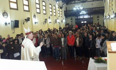 El colegio San José pasó al obispado de 9 de Julio