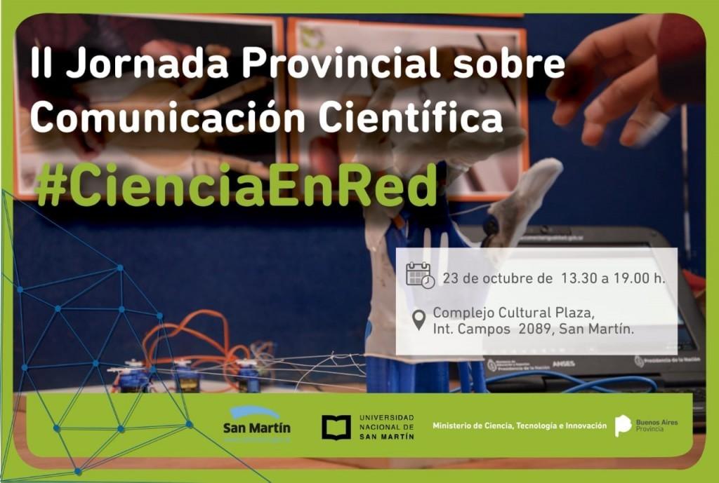 II Jornada Provincial sobre Comunicación Científica