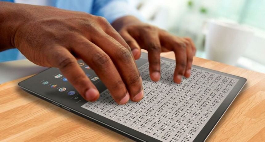 Blitab, la tablet que traduce internet al braille