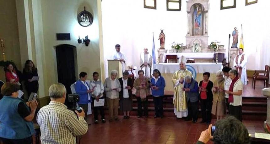 """90º ANIVERSARIO DE LAS RELIGIOSAS SIERVAS DE SAN JOSE EN LOS TOLDOS """"Ellas son el rostro materno de la Iglesia"""""""