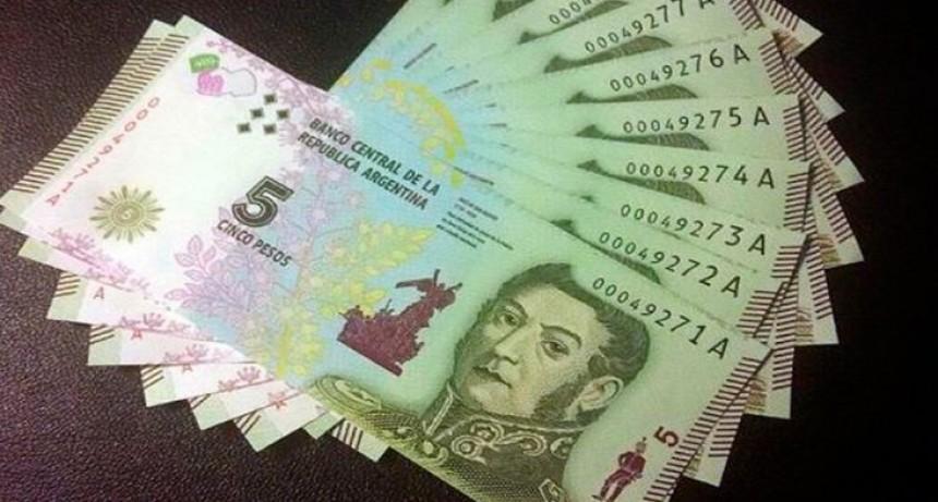 Hasta cuándo se pueden usar los billetes de 5 pesos