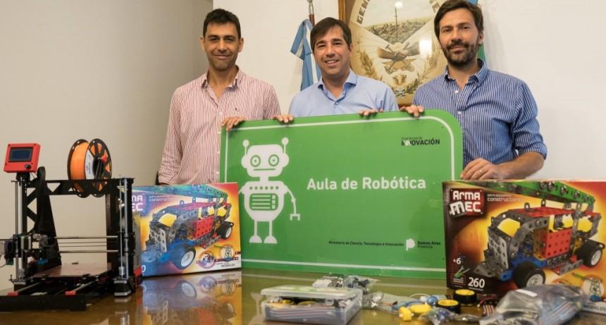 Aula robotica para el aula digital