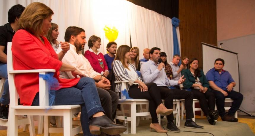 Mauricio Martín y Viviana Guzzo cerraron la campaña del Frente de Todos  en Baigorrita