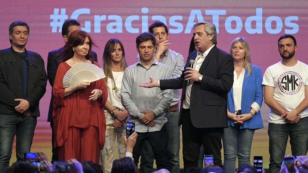 Se cumple un año de la victoria del Frente de Todos en las elecciones presidenciales