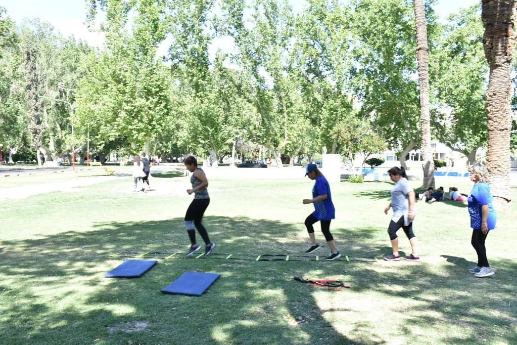 ¡A VER QUE PLAZA! es el nuevo programa que lleva deportes y actividad física a la plaza y espacios verdes de tu barrio