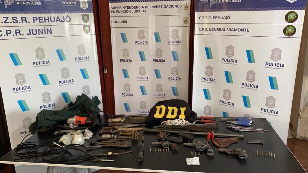 BAIGORRITA | 2 Personas ancianas son amedrentadas mediante disparos con armas de fuego