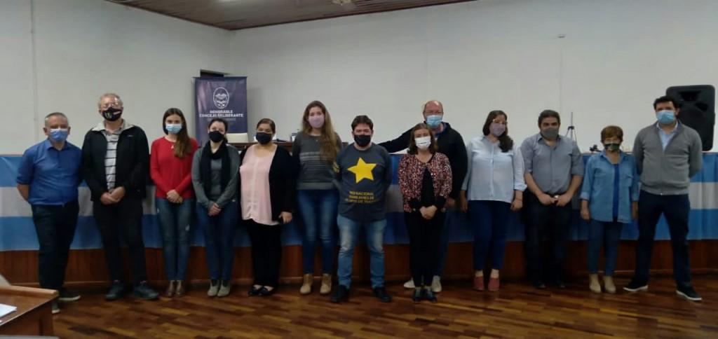El HCD de Gral Vte, , Declaró de Interés Legislativo Municipal la Campaña Nacional de Concientización Vial Estrellas Amarillas