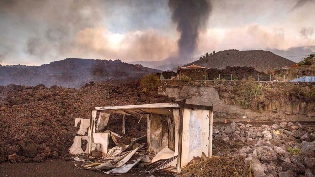 Un terremoto de 4,9 de magnitud sacudió la isla La Palma en Canarias