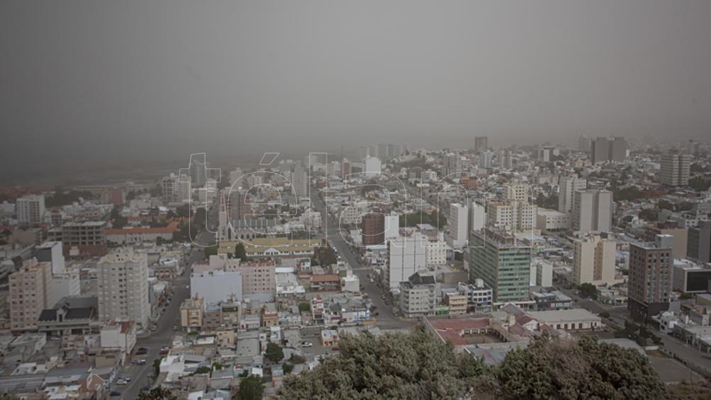 Vientos de 150 kilómetros por hora generaron destrozos y cortes de ruta en Chubut