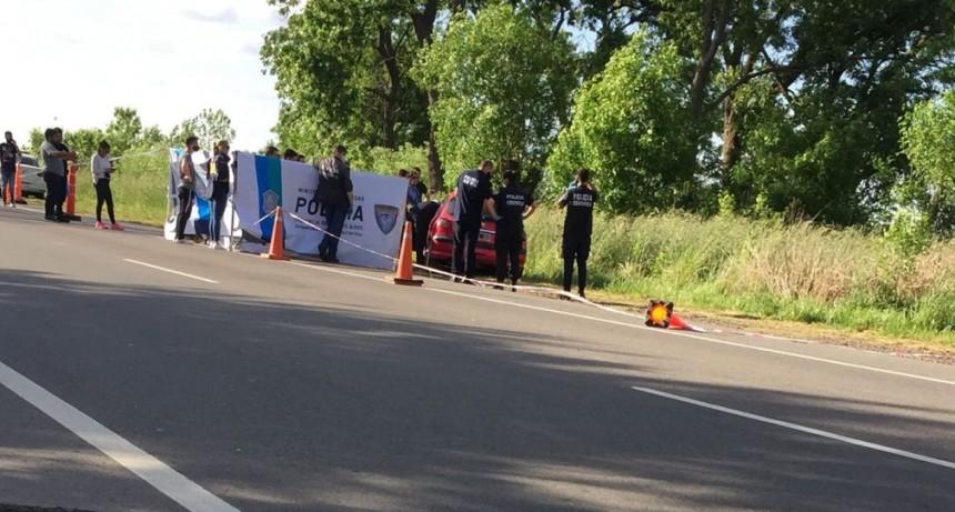 RUTA 65 | Policía hallado con un disparo
