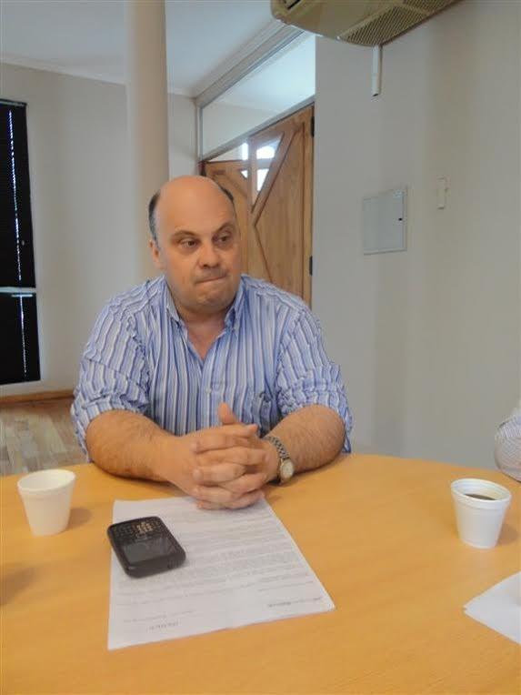 Bartoletti, presentó al nuevo responsable de Seguridad Local