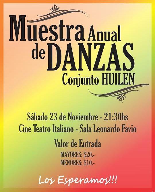 Muestra Anual de Danzas 2013