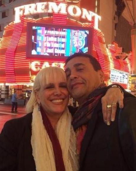 Valeria Lynch se encuentra ya en Las Vegas a punto de recibir  su primer
