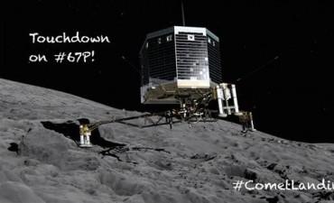 Histórico: robot Philae logró aterrizar sobre un cometa