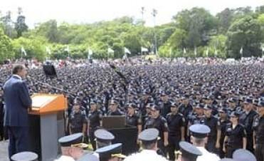 Egresaron 10.000 nuevos policias bonaerenses
