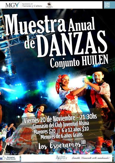 Muestra Anual de Danzas 2015