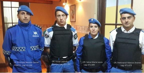 Ascenso extraordinario para policías Juninenses dispuesto por el Ministro Granados