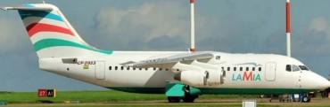 La Selección argentina viajó hace 18 días en el avión del Chapecoense que se estrelló