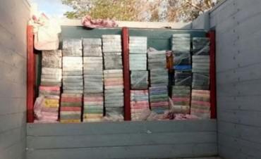 Secuestran un camión con más de 250 kilos de cocaína en Salta