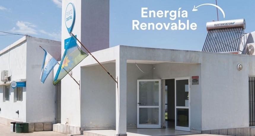 Se coloca un termotanque solar en el C.I.C del Bo. Juan Domingo Perón