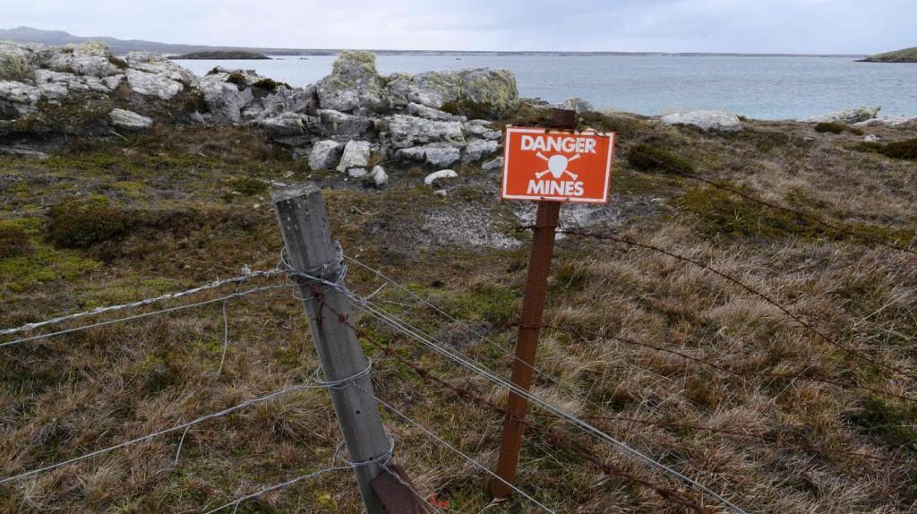 """La Argentina alertó que Reino Unido apartó """"ilegítimamente"""" al país del proceso de desminado en Malvinas"""
