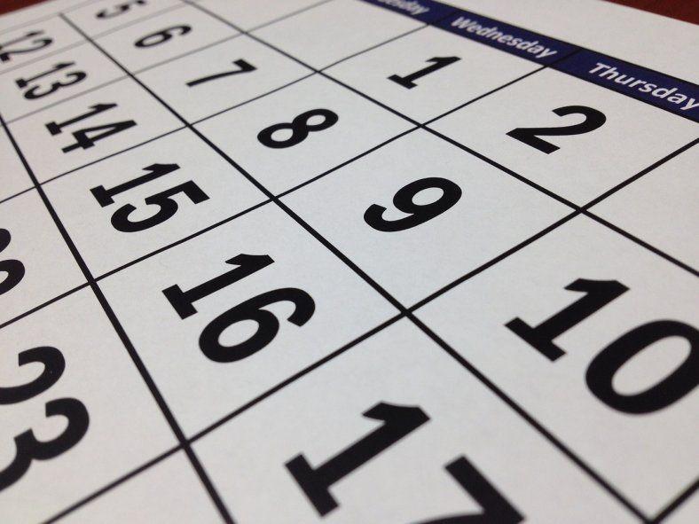 Cuándo es el próximo feriado después del Día de la Soberanía