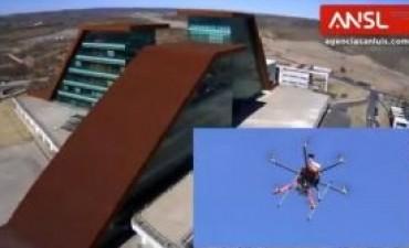 San Luis compró drones con cámaras de vigilancia para seguridad