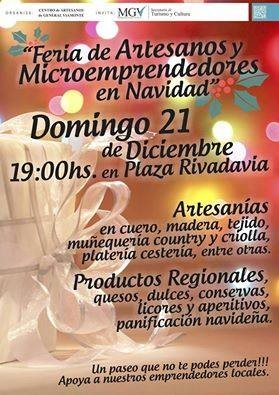"""""""Feria de Artesanos y Microemprendedores en Navidad"""""""