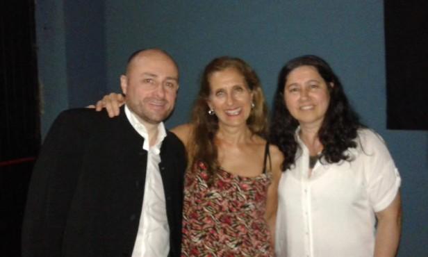 Sergio Spina y Eduviges Picone se presentaron en Los Toldos en un gran concierto en el Cine Teatro Italiano