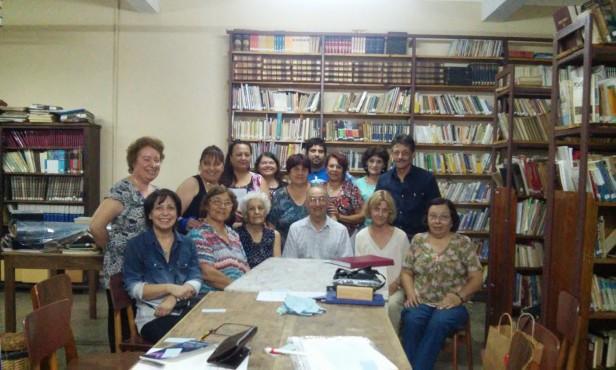 Asamblea Anual de la Sociedad de Escritores, donde quedó conformada la nueva Comisión