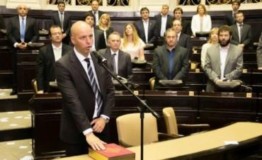 Javier Mignaquy recibió el diploma como Diputado Provincial