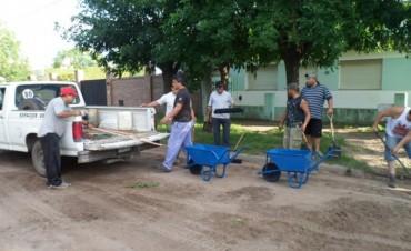 El plan de limpieza en Los Toldos ya está en marcha