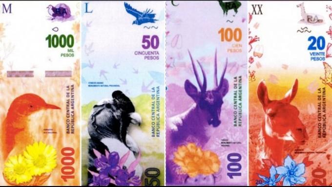 En 2017 los animales reemplazarán a los próceres en los billetes